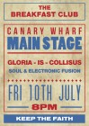 The Breakfast Club Canary Wharf presents GLORIA-IS-COLLISUS