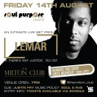 Soul Purpose presents... An intimate LIVE performance by Lemar