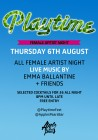 Playtime on Brick Lane: Female Artists Night