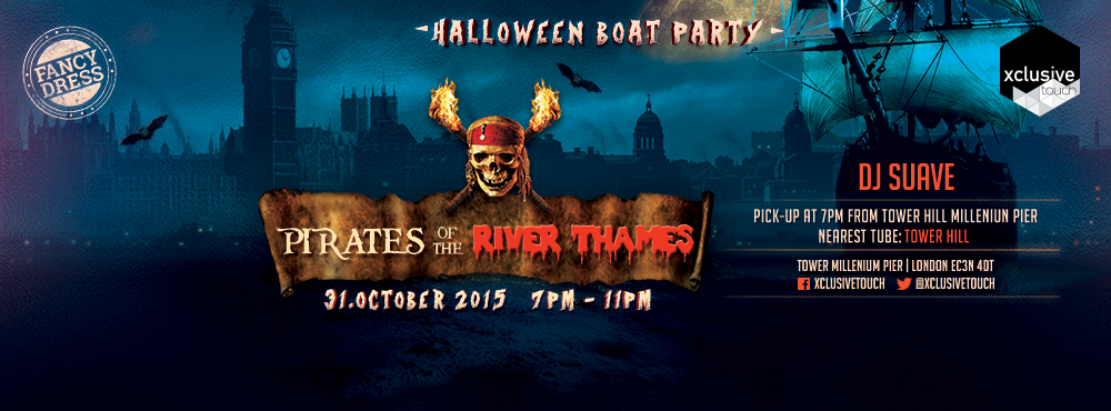 Halloween Pirates of the River Thames