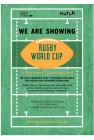 Rugby World Cup - QUARTER FINALS