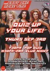 BABY ONE MORE TIME 'Quiz Up Your Life!' Pop Music Quiz & Club Night