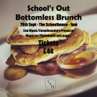 School's Out Bottomless Brunch: September