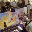 Paint Van Gogh! Fundraising event