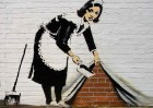 "Paint Banksy's ""Maid"""
