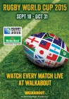 Rugby World Cup at Walkabout Birmingham