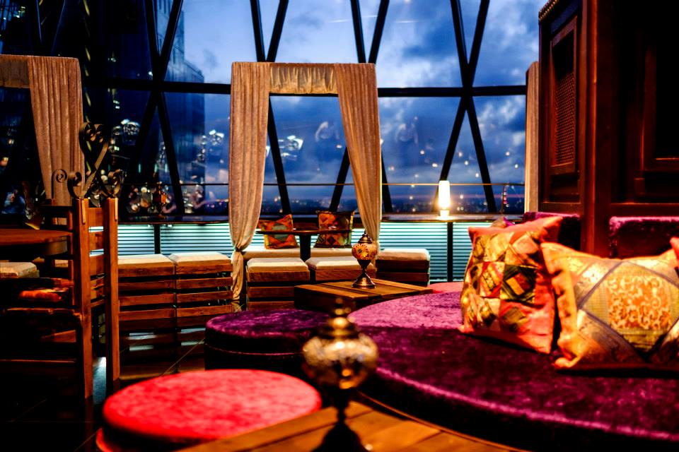 Moroccan Sky Riad Liverpool Street London Pop Up