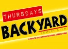 Backyard Comedy Club – Thursday Night