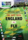 Rugby World Cup Opening Match - England VS Fiji