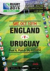 Rugby World Cup - England VS Uruguay