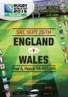 Rugby World Cup - England VS Wales
