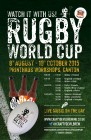 Rugby World Cup Watch it With Crafty Devil Brewing & Dusty Knuckle Pizza