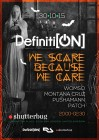 DEFINITION : We Scare Because We Care