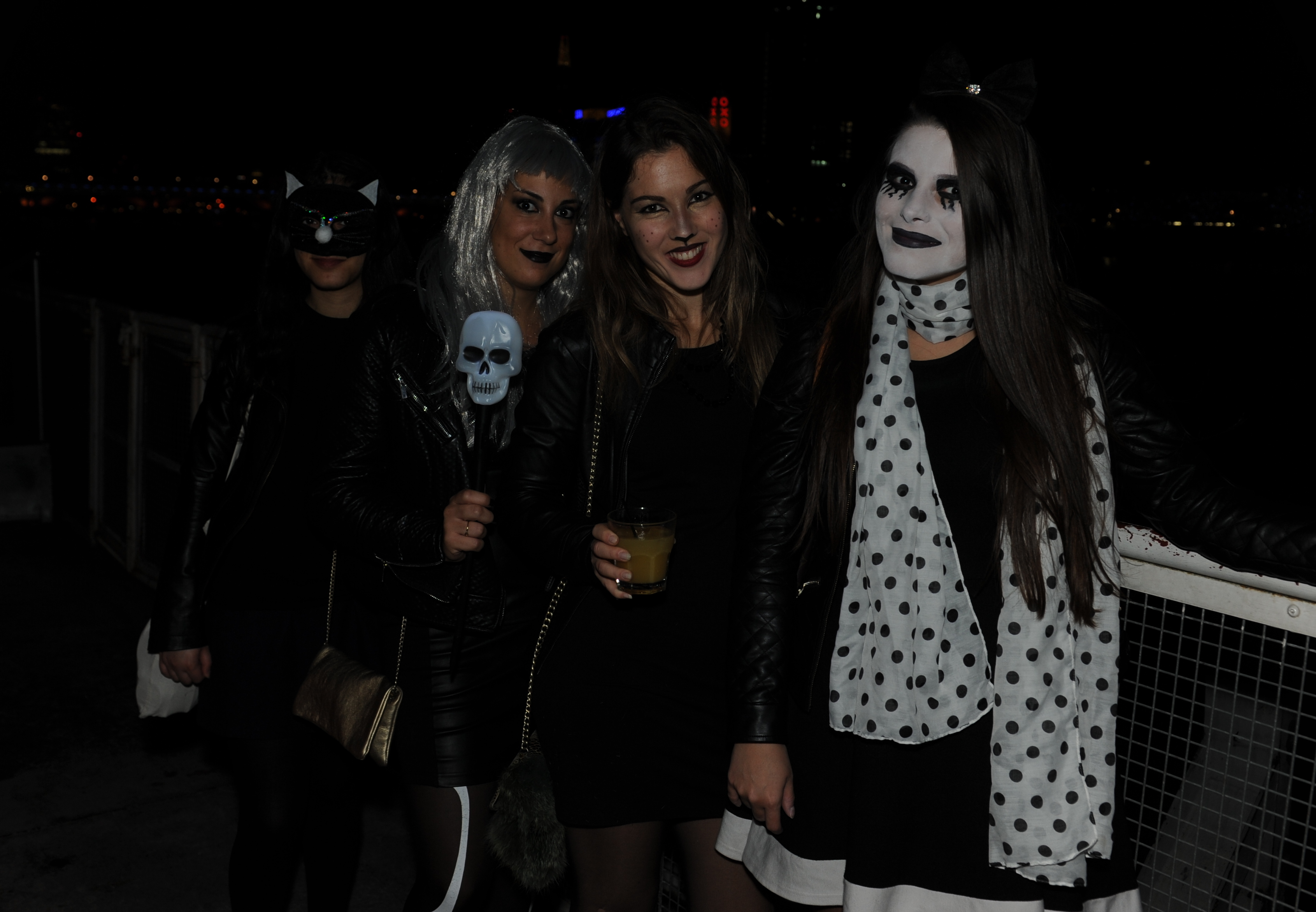 ghost ship halloween party | embankment, london boat party reviews
