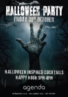 Halloween Party @ Agenda