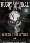 Rugby World Cup Final Halloween Party