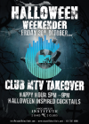 Halloween Weekender- Club MTV Takeover