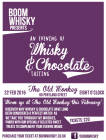 Boom Whisky Presents: An Evening of Whisky & Chocolate Tasting