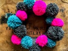 Pom Pom Wreath Workshop