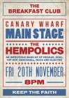 The Breakfast Club Canary Wharf presents THE HEMPOLICS