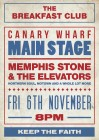 The Breakfast Club Canary Wharf presents MEMPHIS STONE & THE ELEVATORS LIVE