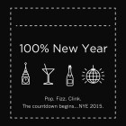 100% NYE at The Akeman, Tring