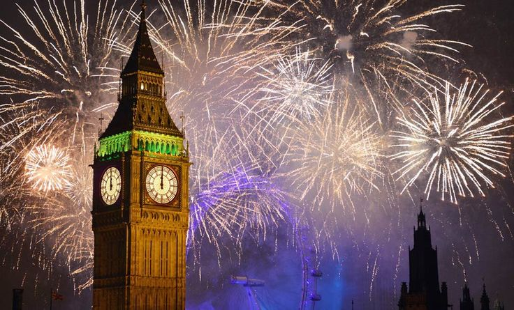 New Years Eve England