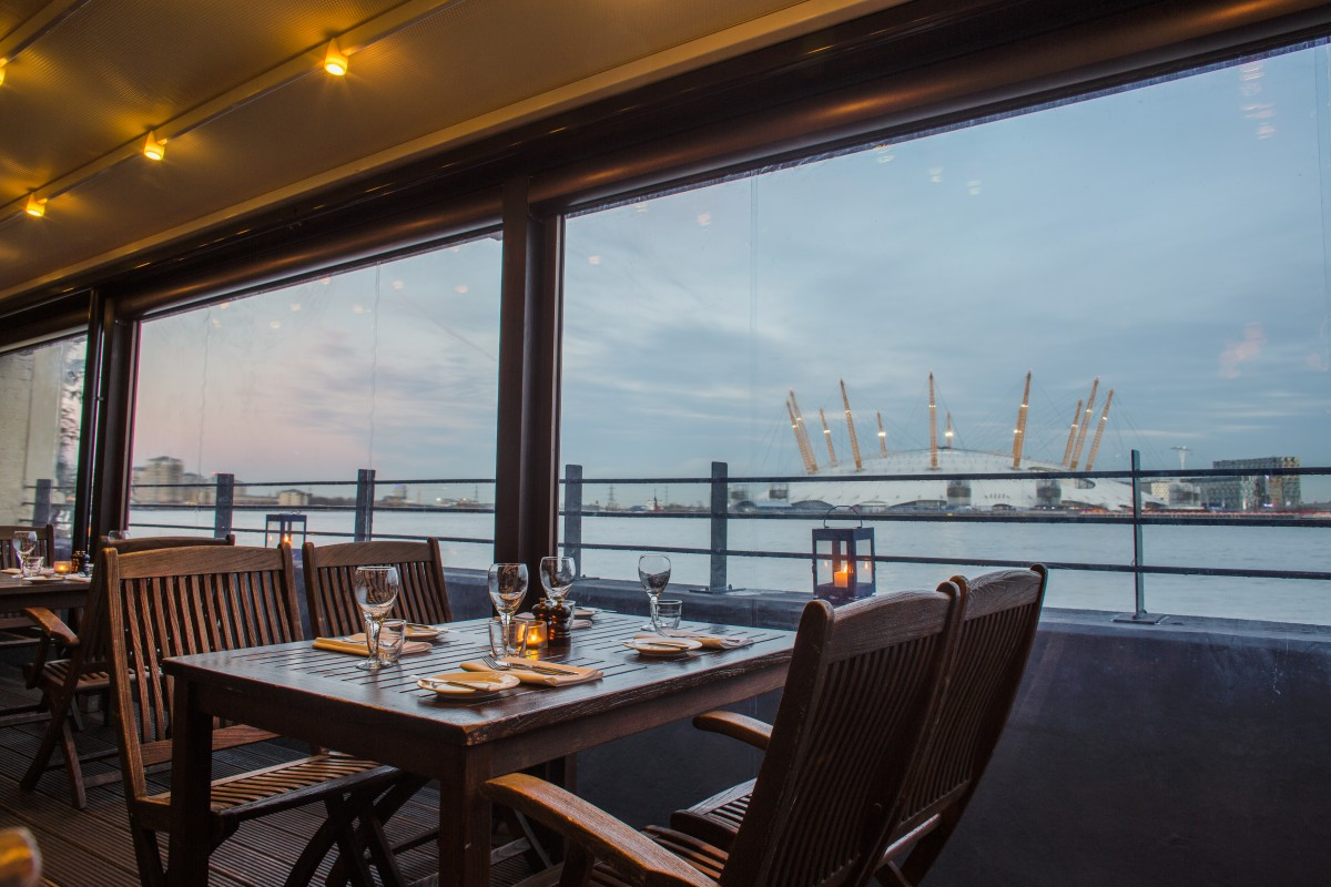 Restaurants in London With A View | Riverside Restaurants London ...