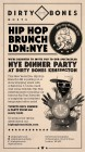Hip Hop Brunch New Years Eve Dinner Party Extravaganza! Named Evening Standards Top 10 Boozy Brunch