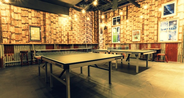 The Bat And Ball They serve the pints, you serve the points: Stratford Westfield gets new ping pong bar
