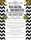 Black & White Christmas Ball