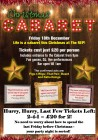 Christmas Cabaret & Party - Last Friday Before Christmas  - 2-4-1 Tickets!