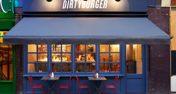 Dirty Burger Dirty Burger touches down in Exmouth Market for their fifth and largest London location