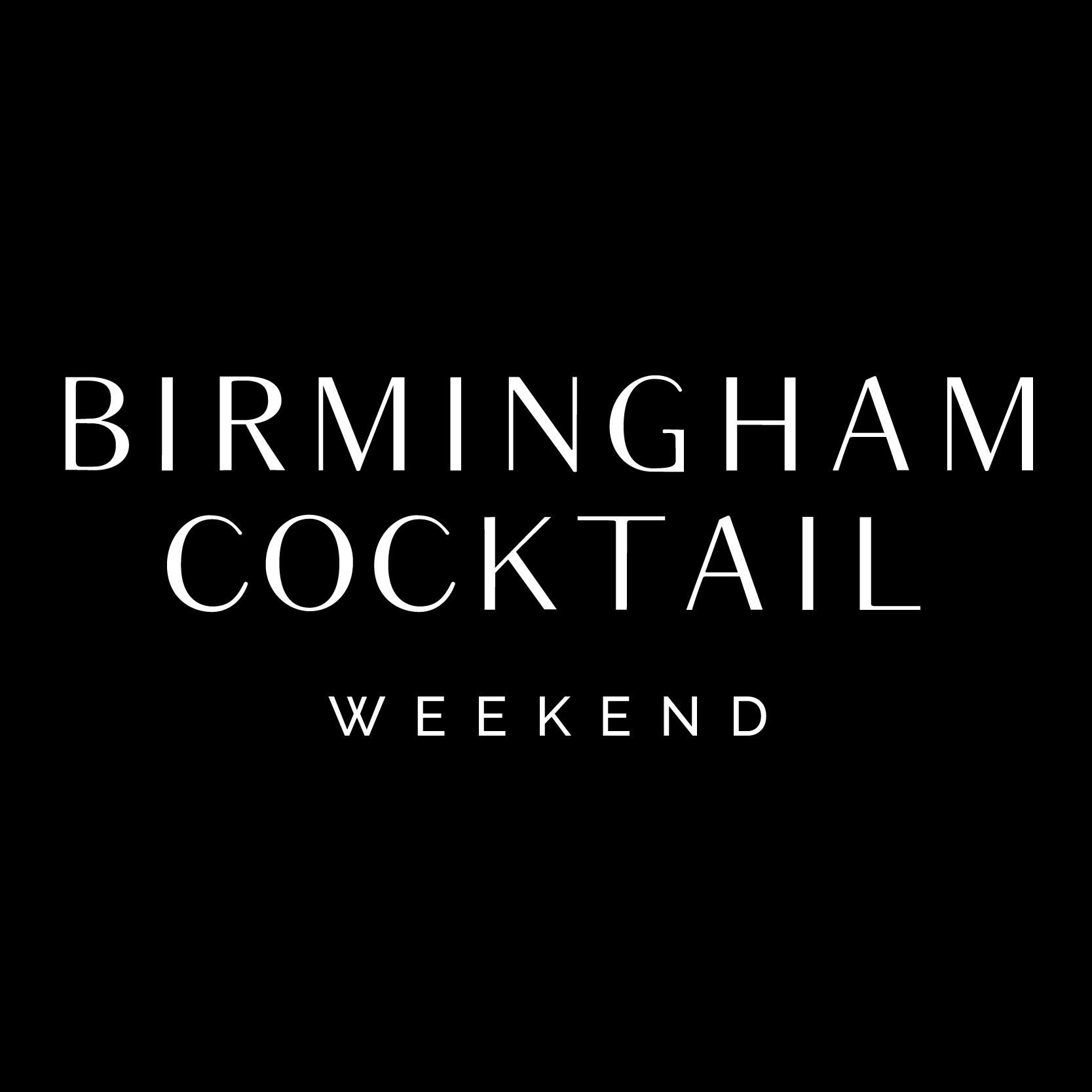 Birmingham Cocktail Weekend