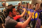 PopUp Painting: Starry Night over London!