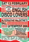 English Disco Lovers Alternative Valentine's Ball