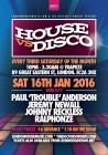 House Vs Disco at Trapeze Basement