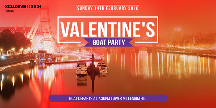 Valentines Boat Party