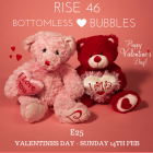Valentine's Bottomless Bubbles