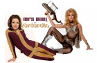 Mrs Peel vs Barbarella