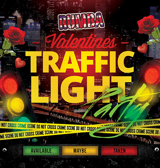 Valentines Traffic Light Party Amazing Ideas