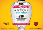 Pub Quiz Night - Tuesdays