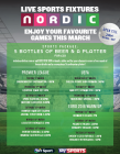 Live Football at Nordic This March