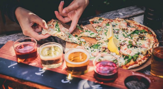 The Stable Pizza by the paddle, cider and pie scoffing comes to East London