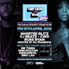 Hip-Hop vs RnB - Dilla Edition: 'The Diary' Launch Party