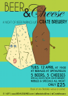Beer & Cheese Tasting with CRATE BREWERY
