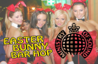Easter Bunny Bar Hop ending at  Ministry of Sound