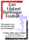 East of England Burlesque Festival: Newcomers