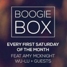 Boogie Box w/ Wu-Lu & Amy Caddies McKnight
