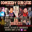 Comedy Cirque with Abi Roberts